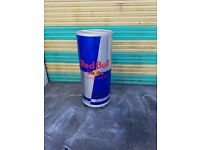 red bull can fridge with wheels for shop office stainless steel drink fridge