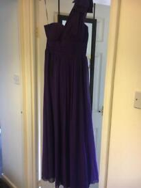 Size 12 purple Jane Norman ball gown