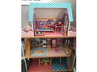 Wooden dolls house!
