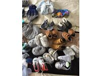 Baby boys clothes age 6-9 months 2 large bags 109 items & excellent condition
