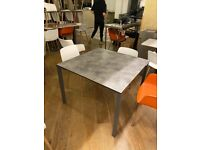 Laminated Top Table with Aluminium legs for Sale