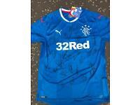 Signed Rangers shirt 2017/2018