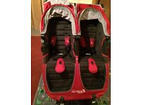 City Mini Baby Jogger GT (Red) Double Buggy