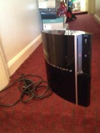 PS3 console 80gb