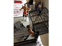 WWE crash cage