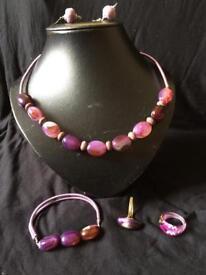 Job Lot Semi Precious Stone Jewellery