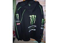 MONSTER ENERGY JACKET, SIZE M, OFFICIAL MERCHANDISE (ONLY USED A COUPLE OF TIMES) £8