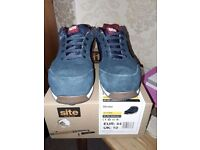 Site Strata Safety Trainers Navy Size 10. £26.00 ONO.