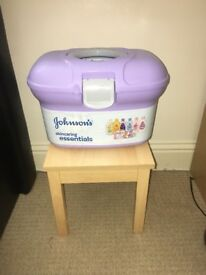 Baby changing bath and bathing stool