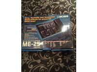Boss ME25 effects pedal