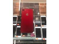 Brand New Iphone 7 RED 128Gb EE