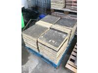 "Concrete slabs flags 450 x 450mm 18"" inches"