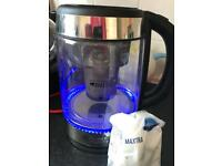 Brita Water Filter Kettle with spare filter