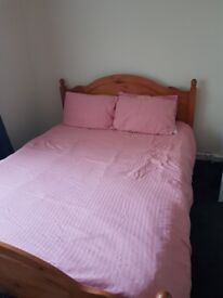 King sized bed frame for sale.