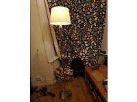 Ikea SAMTID Floor/reading lamp Nickel-plated