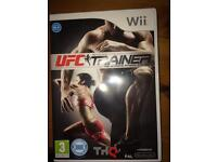 UFC trainer Nintendo wii