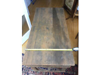 Solid Pine Trestle Table - ideal for car boot sales or fêtes or greenhouse