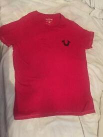 True religion t shirt size s men's