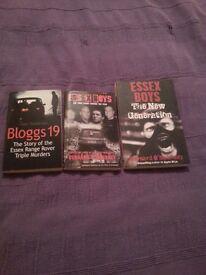 Essex Boys gangster books for sale