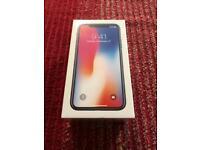 Unlocked iPhone X - 64gb - Brand New Sealed