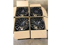 "Set of 19"" inovit alloy wheels Jaguar Volvo Ford"