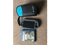 PS Vita, 16GB memory, official case, charger & Uncharted game