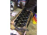BMW E36 1992 M50 2.5 Non Vanos engine block and head