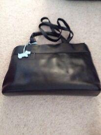 Radley Black Leather Handle & Shoulder Bag