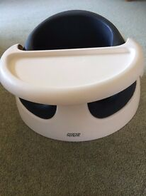 Mamas and Papas 'Baby Snug' seat with re-moveable tray - as new condition