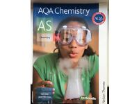 AQA AS chemistry book by Ted Lister and Janet Renshaw