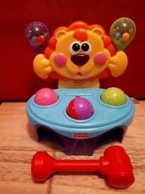 Fisher Price musical lion with balls