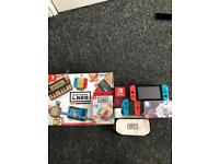 Nintendo switch with Nintendo labo and 2 games