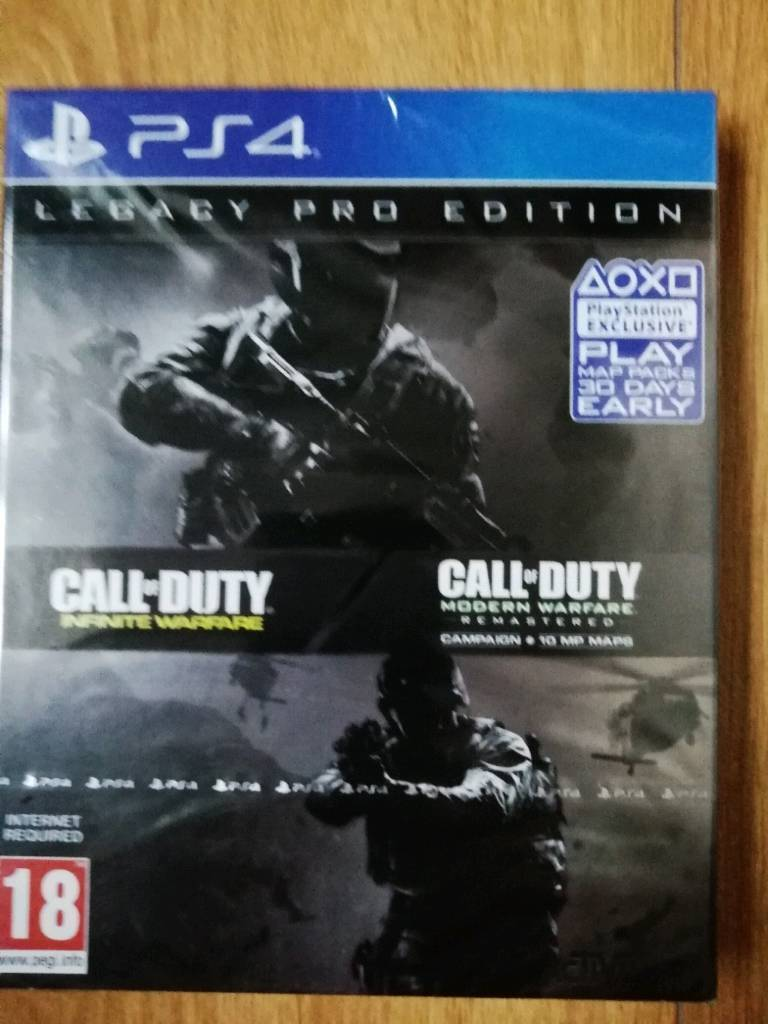 Call Of Duty Infinite Warfare Legacy Edition Ps4 In Drumquin Game