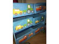 Boys toy storage tidy