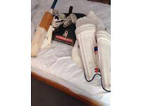 Kookaburra cricket bag with kit