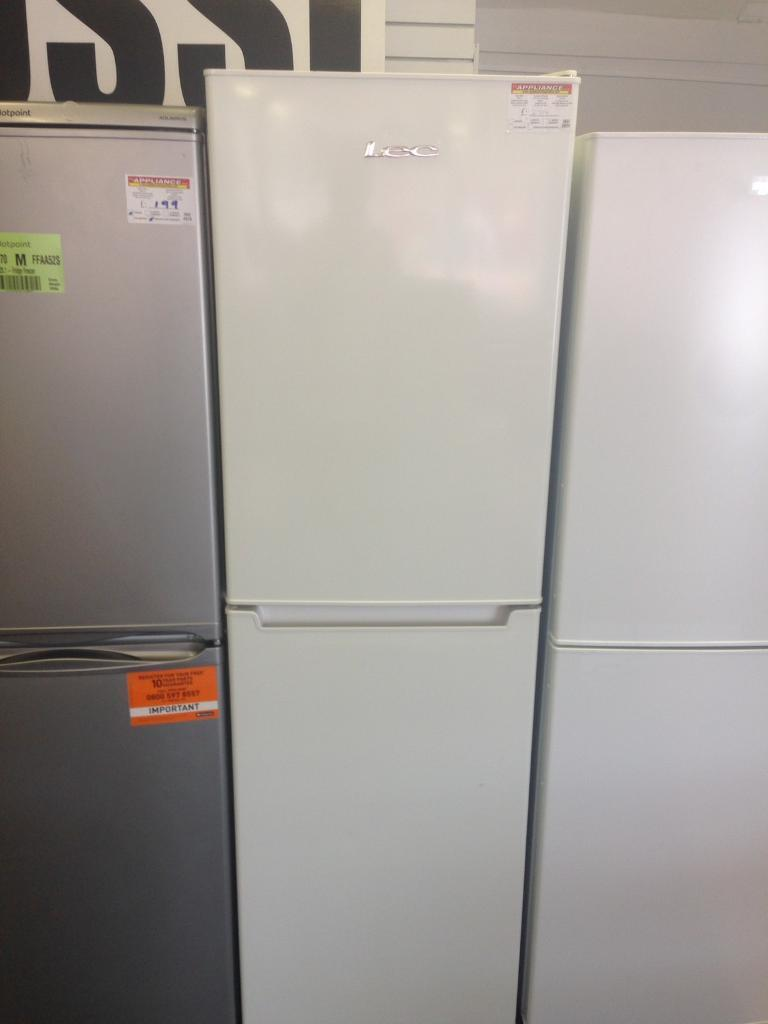 Lec (New) Fridge Freezer (3811)