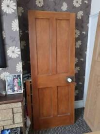 3 wooden doors