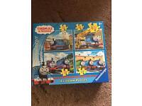 Thomas the tank puzzles