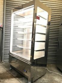 Commercial display multi decks chiller, dairy fridge, energy saving system!