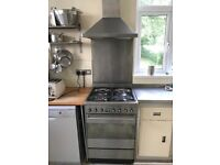 SMEG range cooker SUK61MX8 dual fuel stainless steal cooker