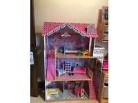 Kidkraft Dolls House with Furniture