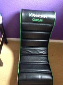 X rocker chair
