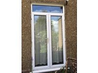 UPVC French doors- white- free- collection only