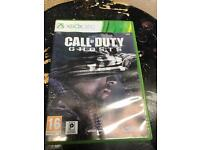 Xbox 360 games call of duty ghosts/modern warfare/black ops 2/farcry
