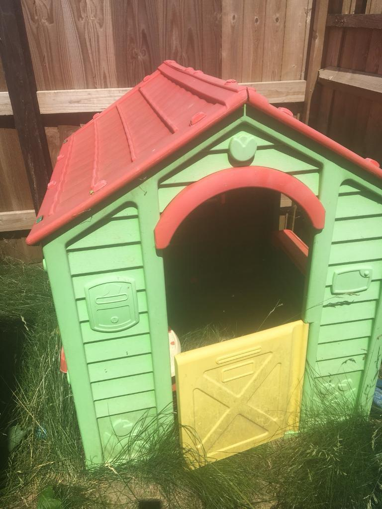 Playhouse With Kitchen