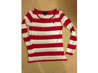 Girls ralph lauren top