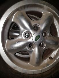 5 x Land Rover Discover 2 TD5/V8 16 inch alloy Wheels