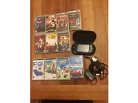 Sony PSP - Mega Bundle (8 Games, 9 Movies, and extra's)