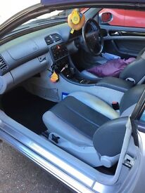 Mercedes CLK320 convertible long MOT drives superb