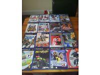 X 17 PS2 GAMES